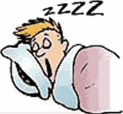 tidur yang teratur