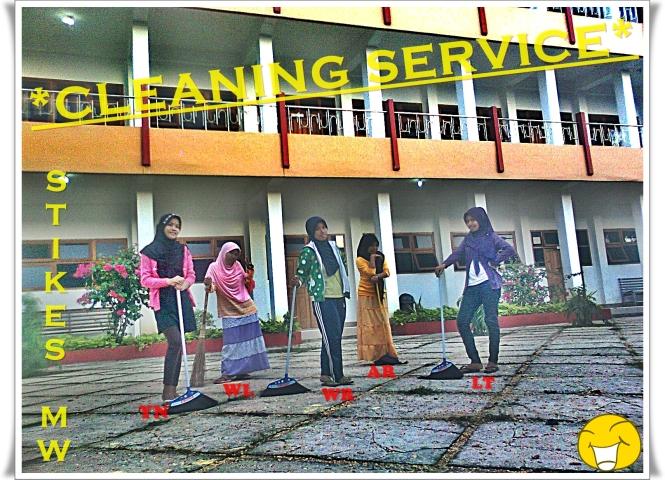 Para CLEANING SERVICE STIKES MW.... Akwat2nya....