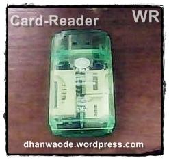 CARD-READER HIJAU-KU