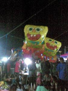 balon-balon spongeboob,,, jeprettttt,,,,,